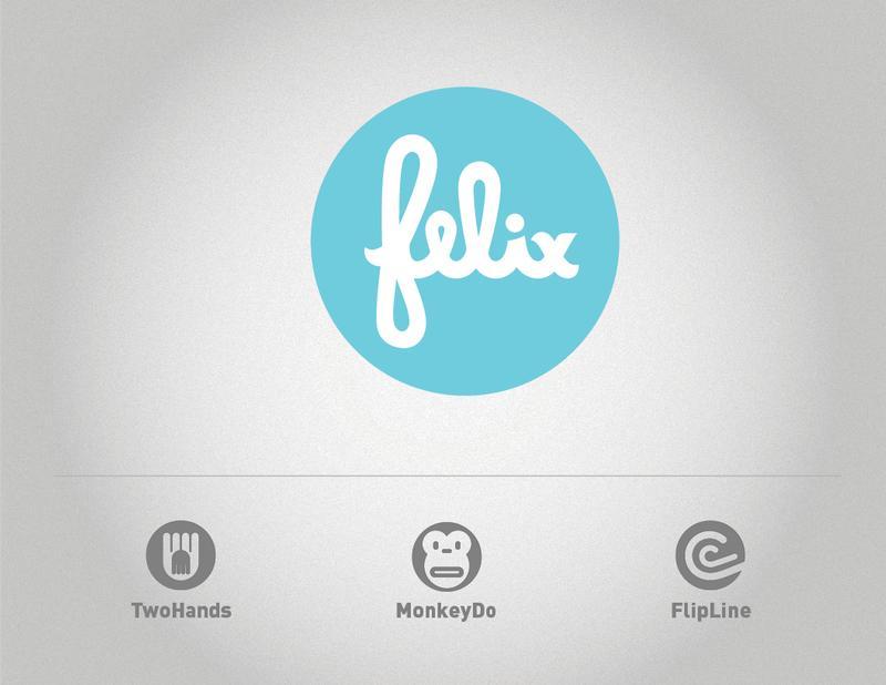 Felix logo and product icons.