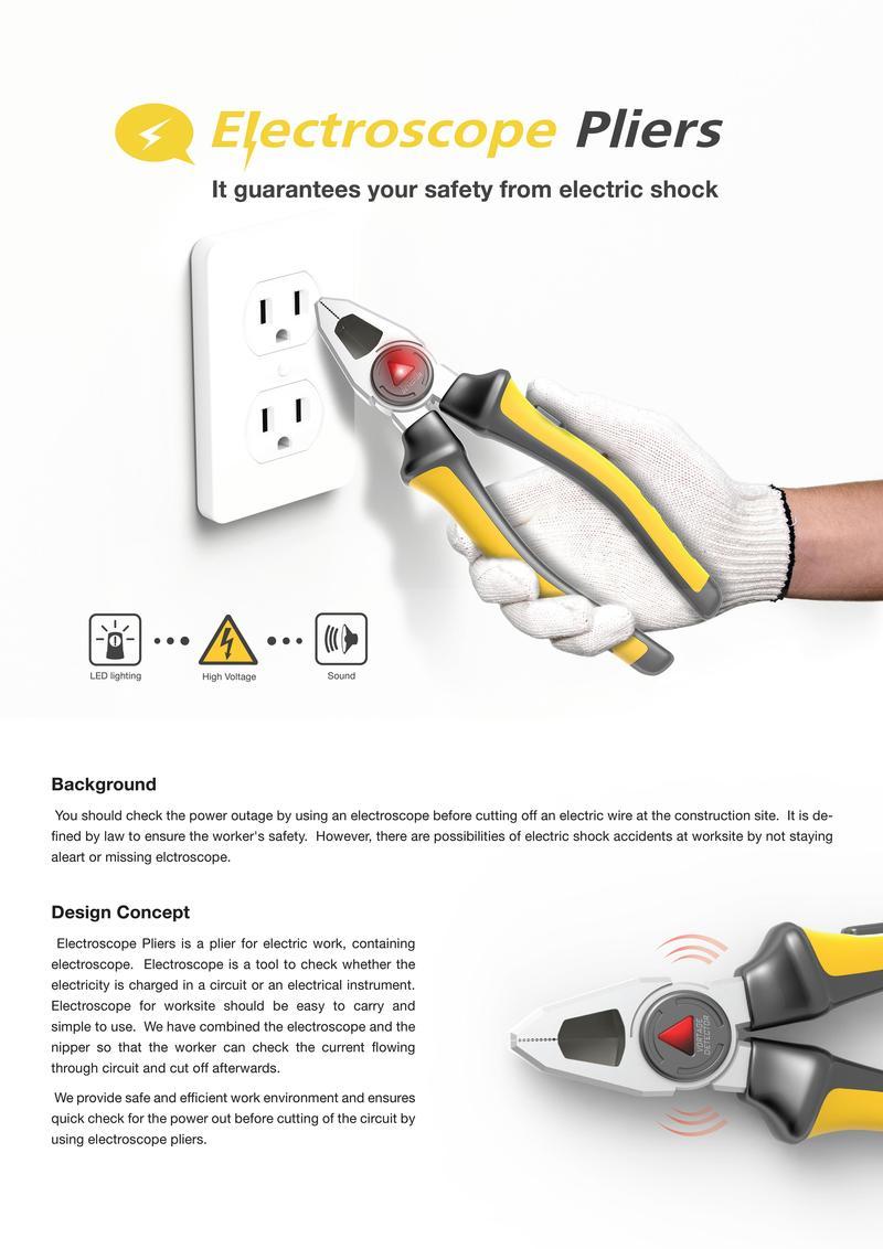 Electroscope Pliers