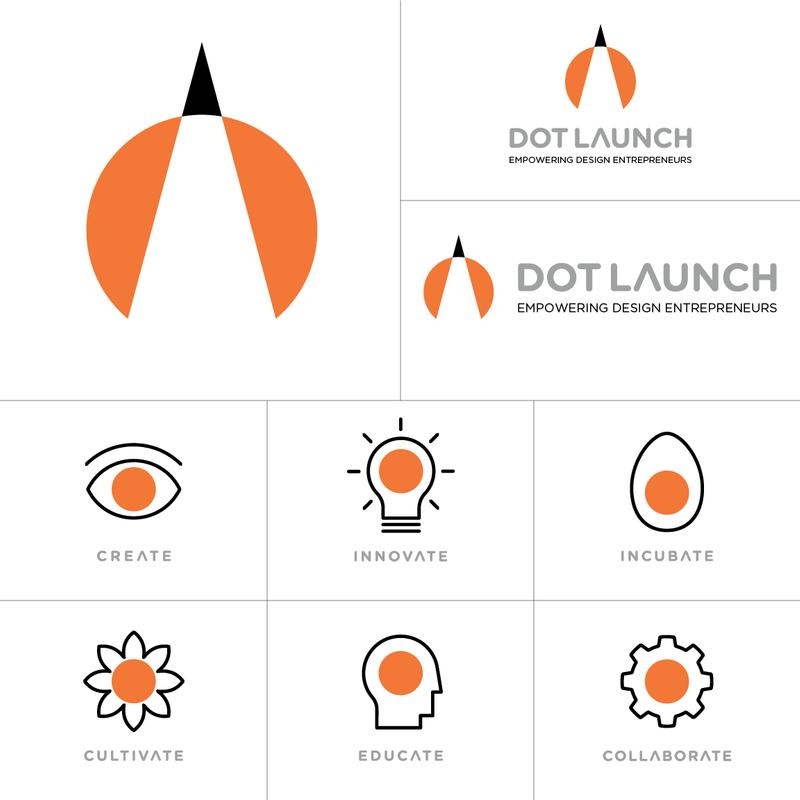 Art Center DOT Launch Branding Program