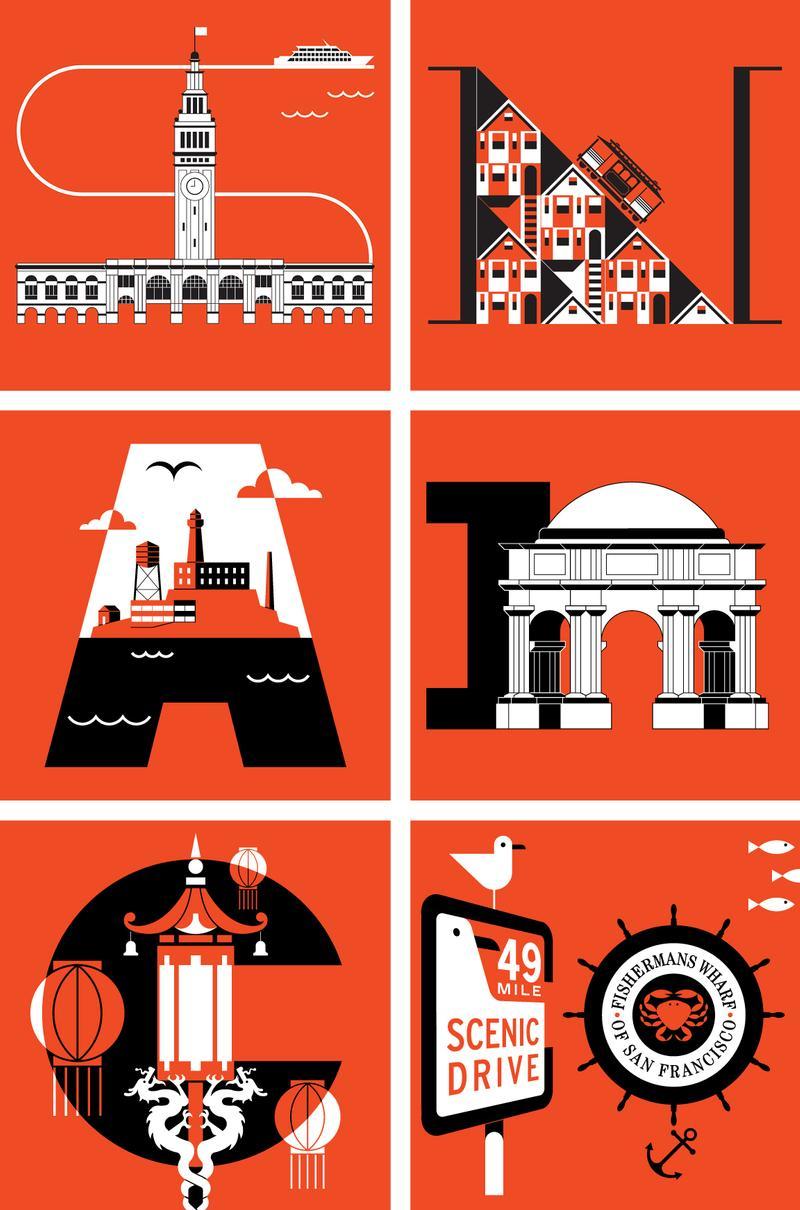 Discover San Francsico Poster Details
