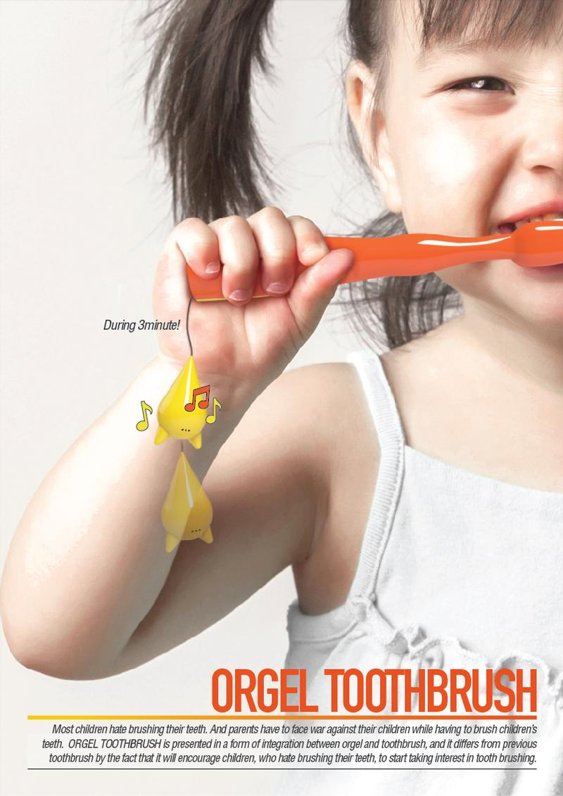 Orgel Toothbrush