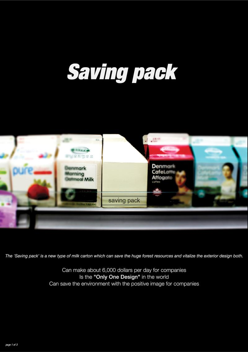 Saving Pack