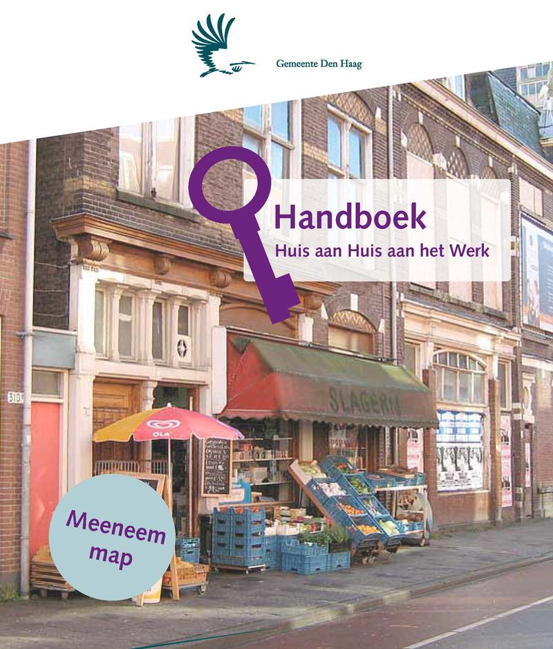 The Handbook that holds all materials for the social workers.