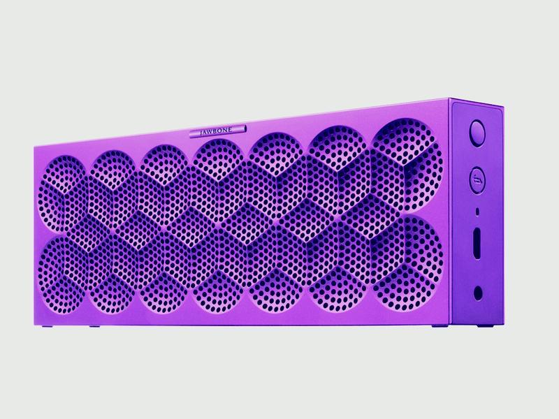 MINI JAMBOX Purple Snowflake side