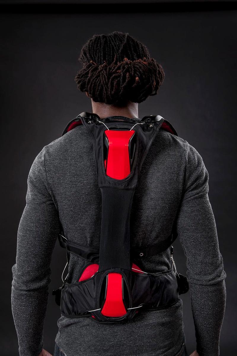 Strong Arm Vest (Back)