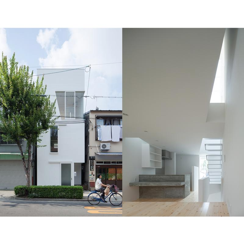 North Elevation, Living Dining Kitchen/ Photo : Yohei Sasakura