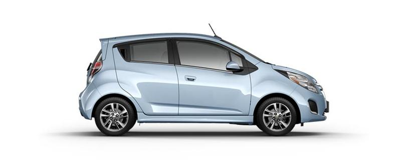 The 2014 Chevy Spark EV's EPA estimated 82 miles of range and combined city/highway 119 MPGe, make it the most efficient retail EV.