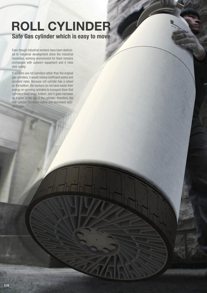 Roll cylinder