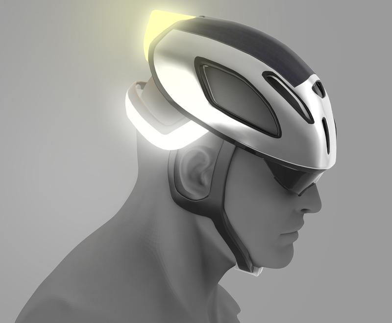 Yellow Signal Bicycle Helmet