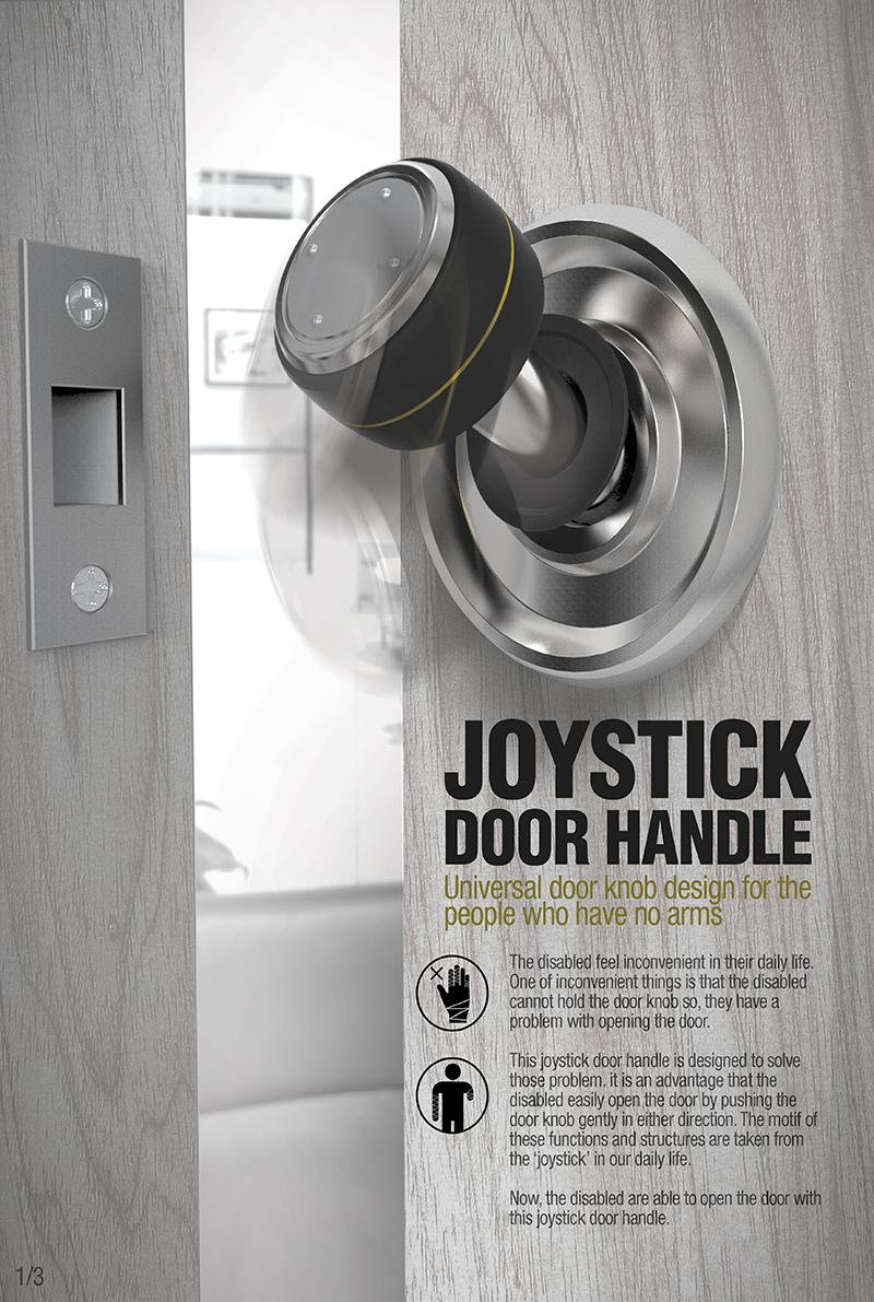 Joystick door handle