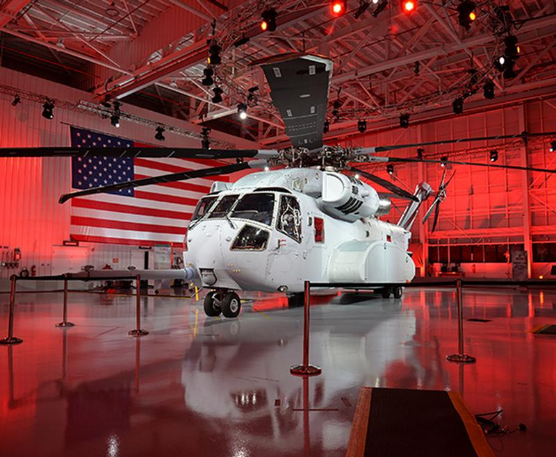 Sikorsky Helicopter Rollout Event CH-53K