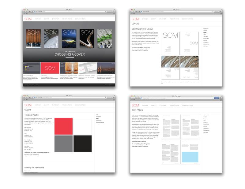 New SOM website and internal website for all employees, creating easy access to communication materials  / ©SOM