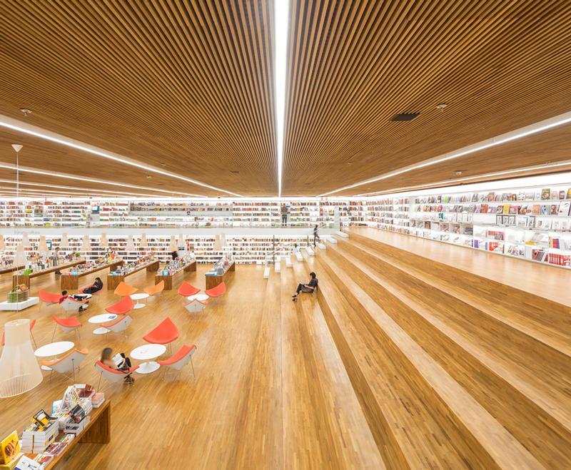Cultura_bookstore(3) / Fernando Guerra