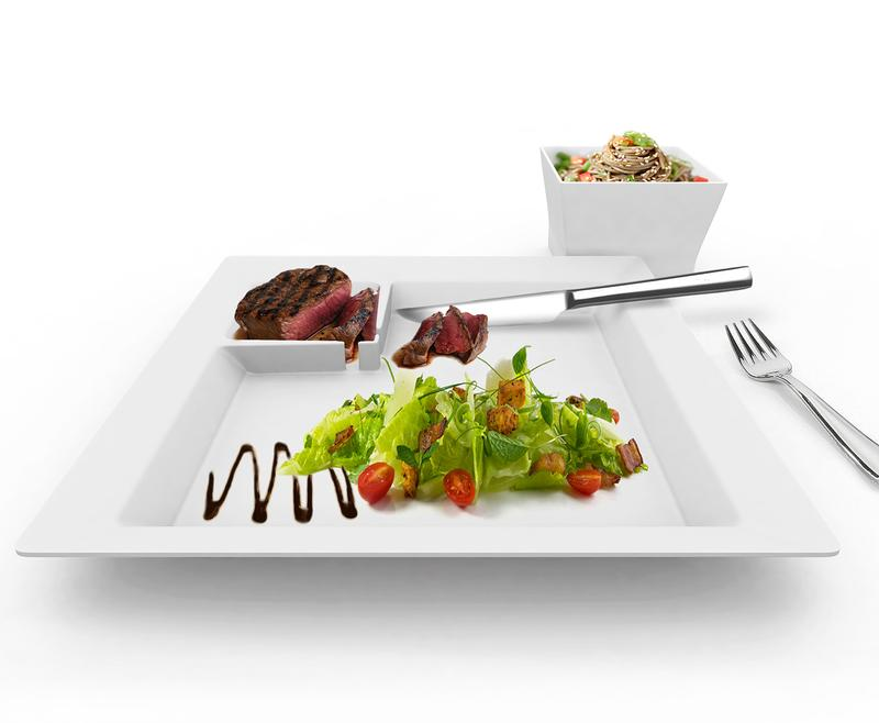 One-Handed Tableware Set