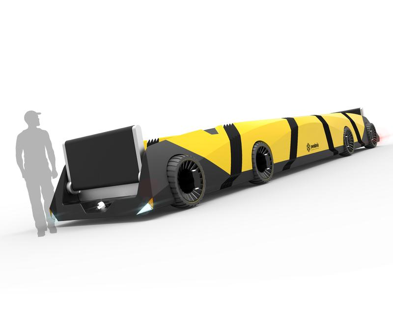 The Autonomous Baggage Train