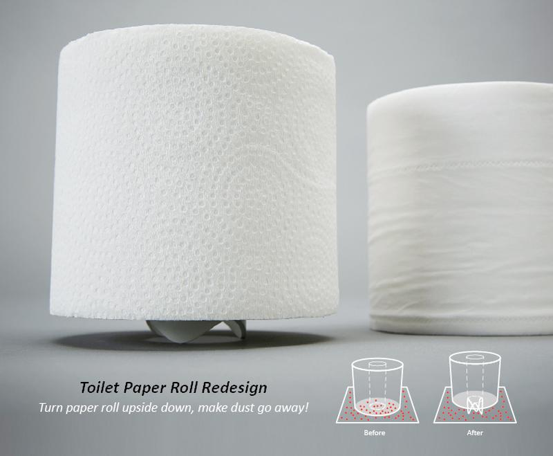 Toilet Paper Roll Redesign