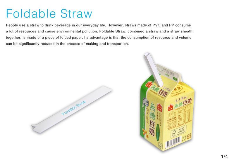 Foldable Straw