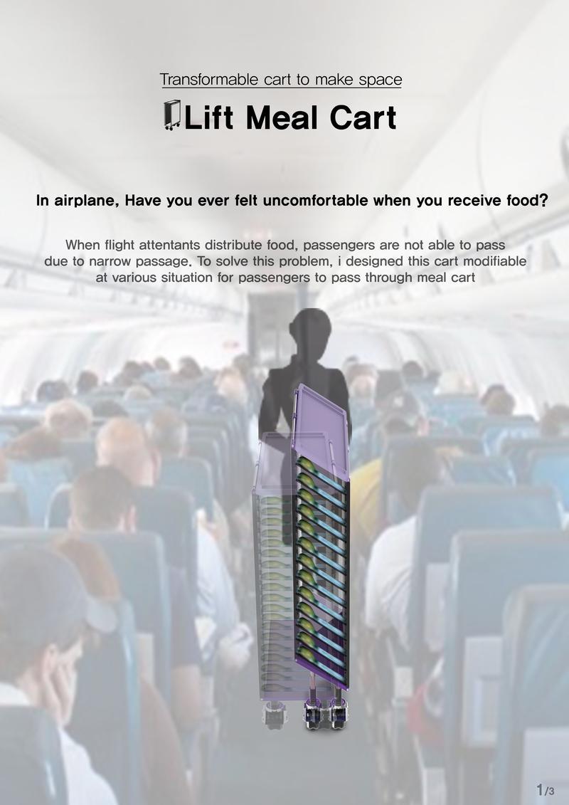 Lift Meal Cart