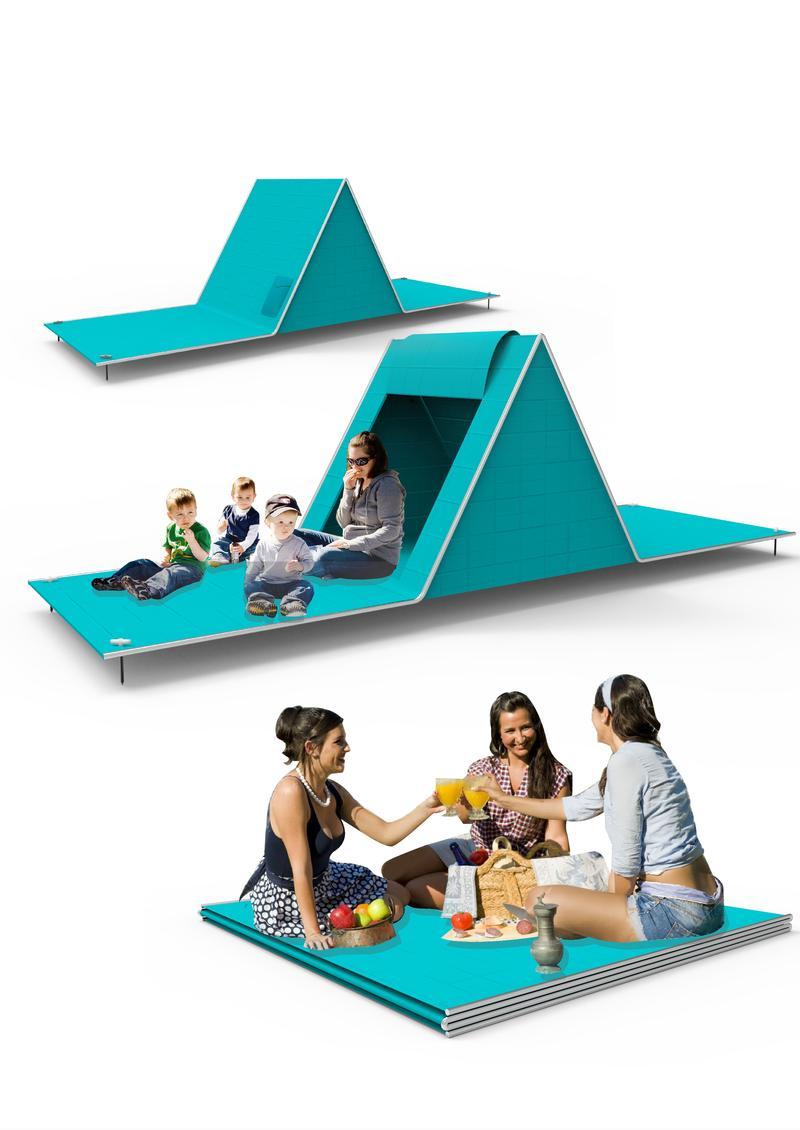 Folding Tent Mat
