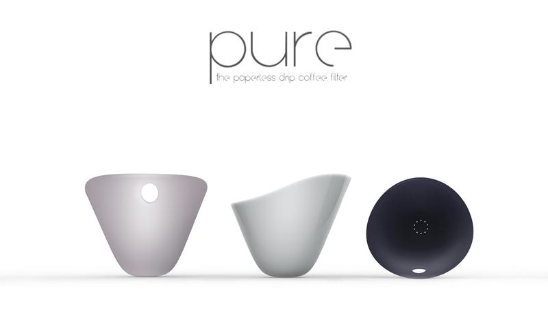 PURE - the paperless drip coffee filter