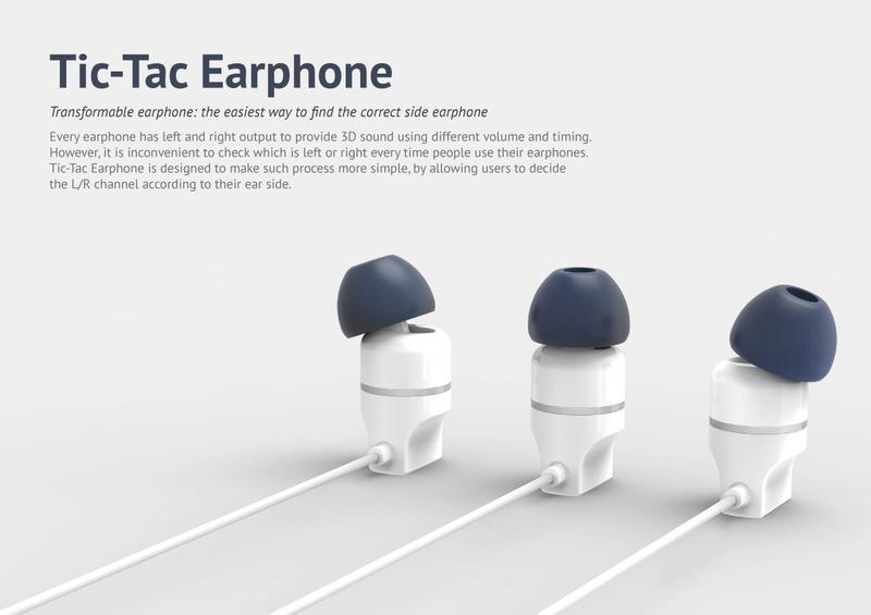 Tic-Tac Earphone