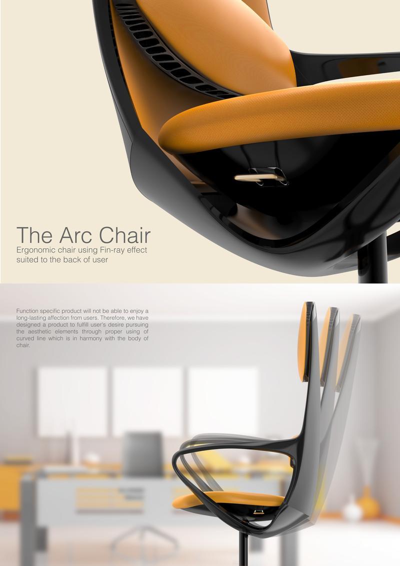 The arc chair
