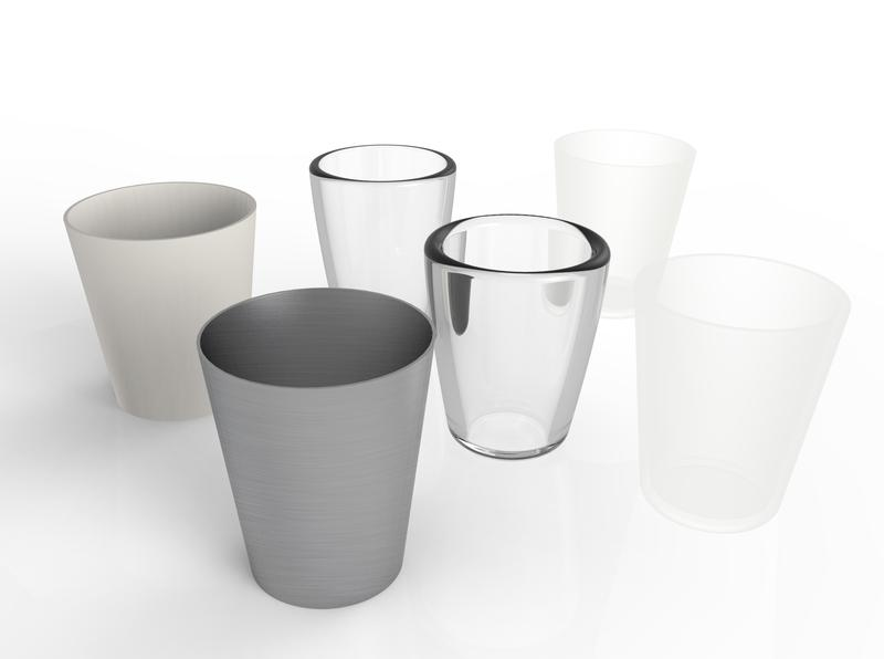 Carbon6 Water Glasses