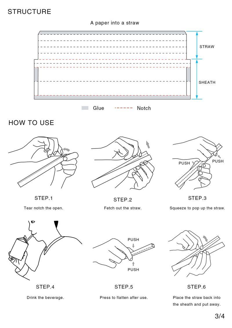 Foldable Straw 03