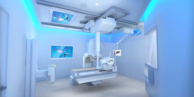 Health Pediatric Fluoroscopy Ambient Experience