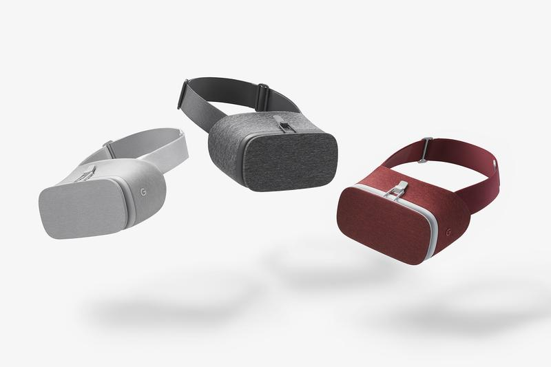 Daydream View in Slate, Snow and Crimson / Google