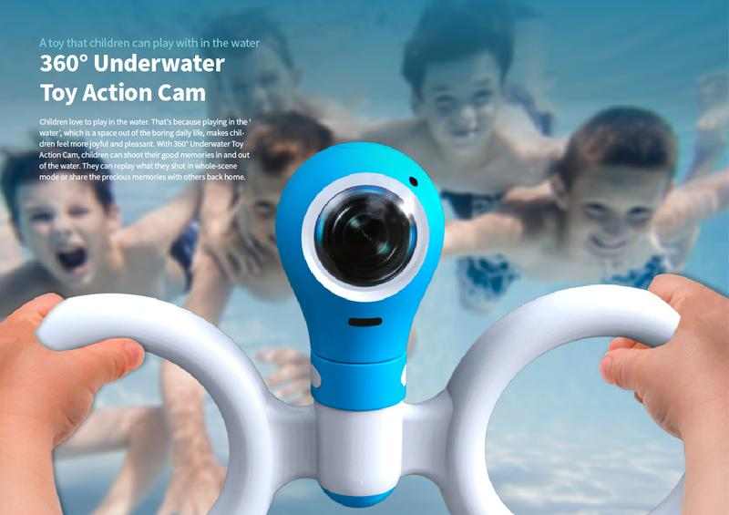 360° Underwater Toy Action Cam