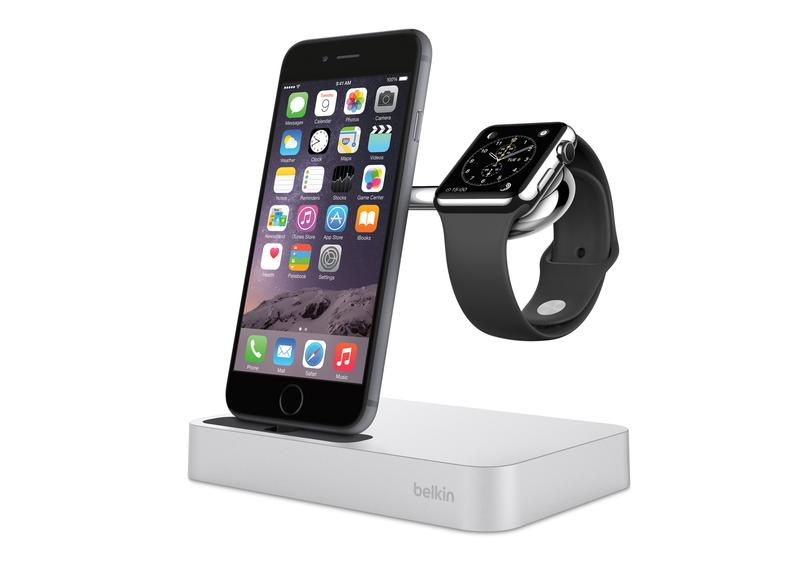 Belkin Dock for Apple Watch and iPhone - with Devices