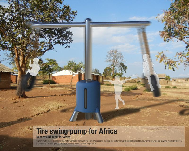Tire Swing Water Pump