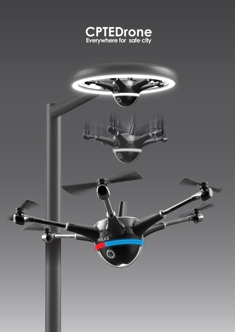 CPTEDrone for Safety & Security