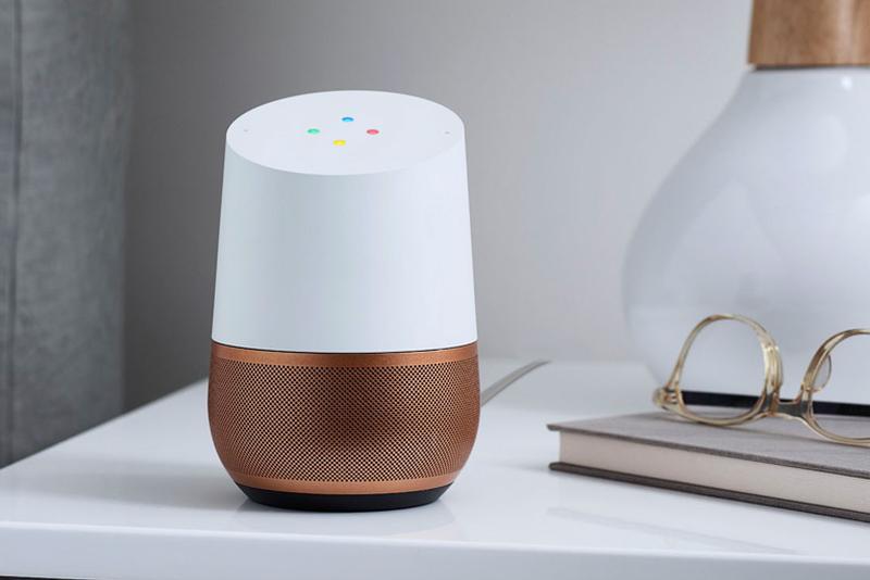 Google Home - bedside table