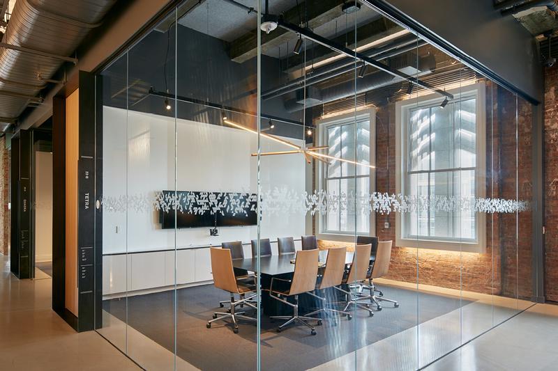 Bloomberg San Francisco Tech Hub workplace branding