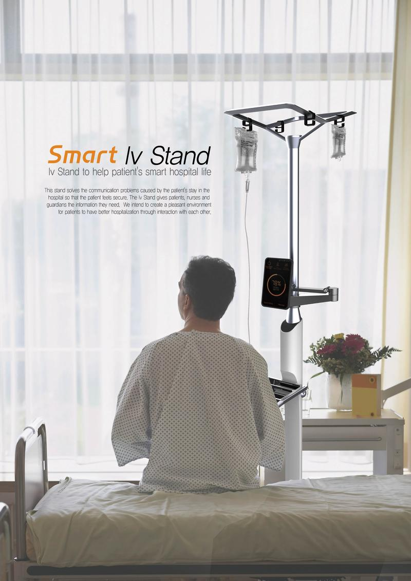 Smart IV Stand