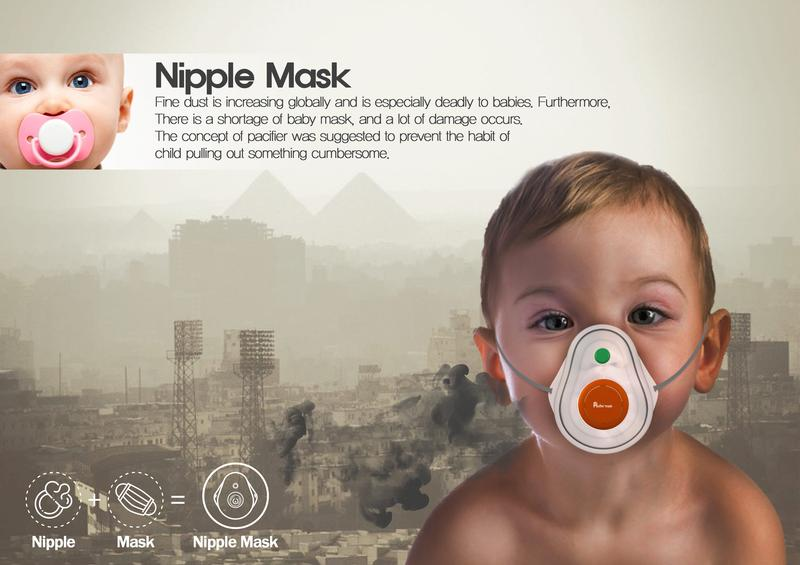 Nipple Dust Mask
