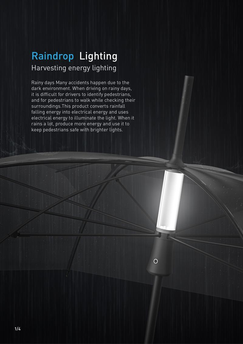 Raindrop Lighting
