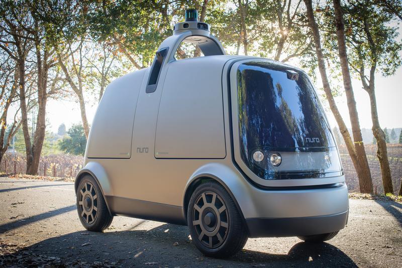 Nuro's Autonomous Delivery Vehicle