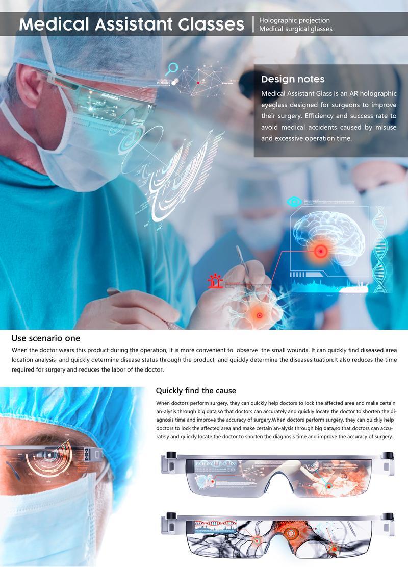 Medical Assistant Glasses