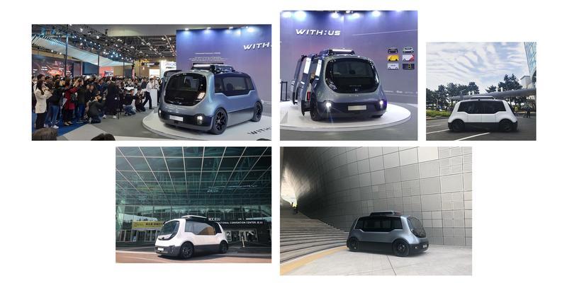 WITH:US, Autonomous Shuttle designed by KLIO